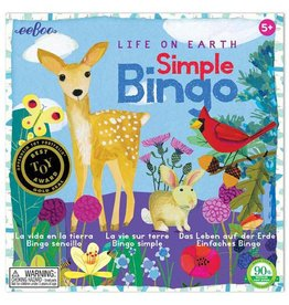 Eeboo Life on Earth Simple Bingo Game