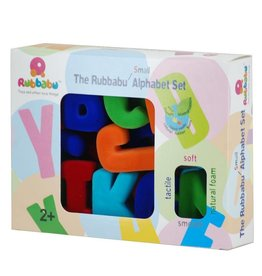 Rubbubu Natural Rubber Alphabet or Number Magnetic Sets