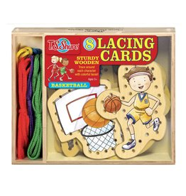TS Shure Wooden Lacing Cards Set by TS Shure