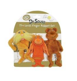 Manhatton Toy Dr. Seuss The Lorax Finger Puppet Set
