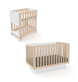 Oeuf Canada Oeuf Fawn 2 in 1 Crib and Bassinet System