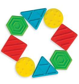 Manhattan Toy Texture Shapes Silicone Teether
