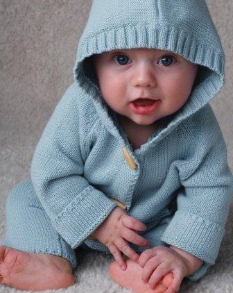 Beba Bean Knit Hoodie by Beba Bean