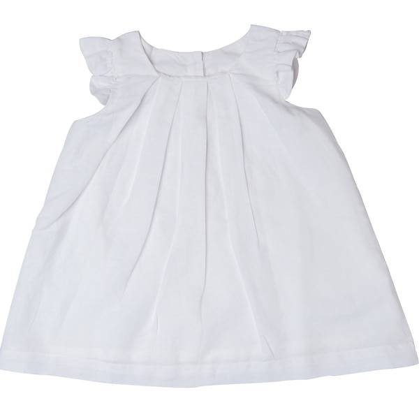 Beba Bean Box Pleat Linen Dress by Beba Bean