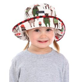Snug as a Bug Cotton Print Adjustable Size Sun Hats by Snug as a Bug