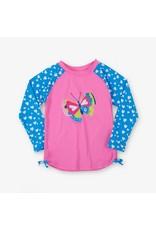 Hatley Long Sleeve UV Protection Rash Guard Shirt (Girls) by Hatley