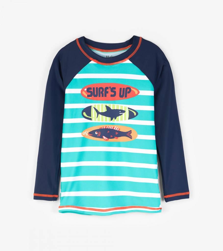 Hatley Long Sleeve UV Protection Rash Guard Shirt (Boys) by Hatley