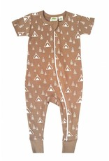 Parade Organic Cotton Zipper Romper by Parade Baby