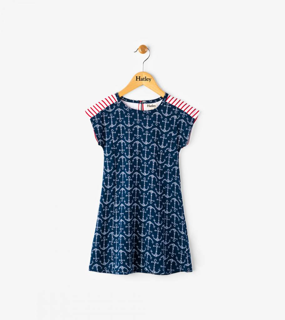 Hatley A Line Cotton Dress by Hatley