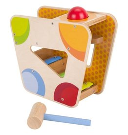 Goki Musical Tone Ball Track Wooden Toy