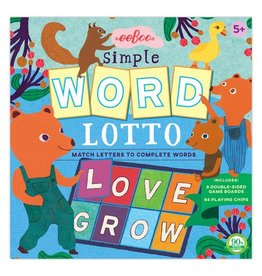 Eeboo Simple Word Lotto Game by Eeboo