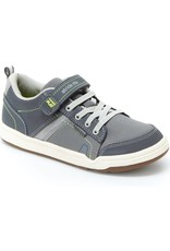 Stride Rite Kaleb Grey Made 2 Play Running Shoe by Stride Rite