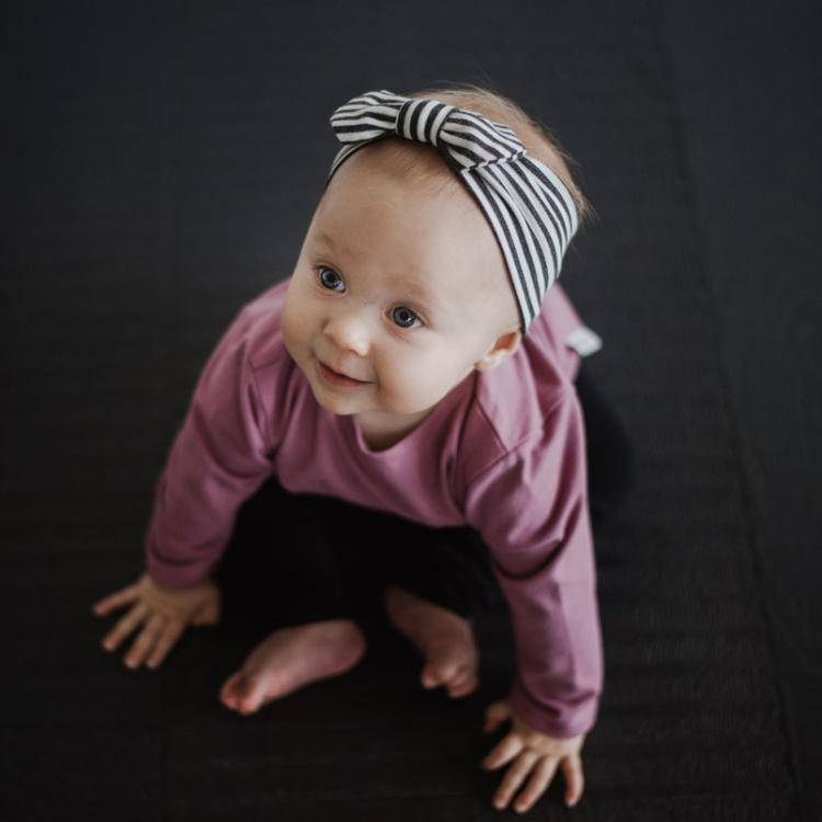 North Kinder Organic Cotton & Bamboo Headband by North Kinder (Made in Canada)