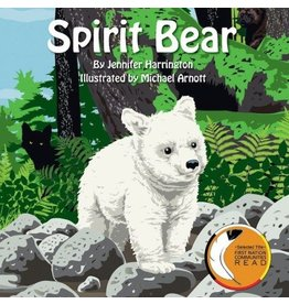 Eco Books 4 Kids Spirit Bear Hard Cover Book by Jennifer Harrington