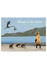 Blue Heron Art Welcome to the World Greeting Cards by Blue Heron Art