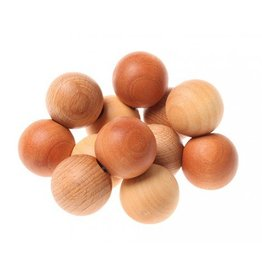 Grimms Natural Wood Bead Grasper Toy by Grimms
