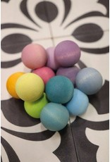 Grimms Pastel Coloured Bead Grasper Toy by Grimms