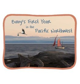 Blue Heron Art Baby's First Year in the Pacific Northwest Keepsake Calendar