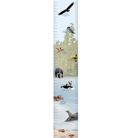 Blue Heron Art Sea to Sky Growth Chart by Blue Heron Art