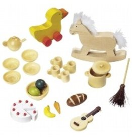 Goki Wooden Dollhouse Accessory Sets by Goki