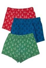 Frugi Organic Cotton Boys Underwear 3-Pack by Frugi