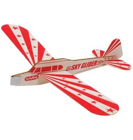 Schylling Sky Glider Balsa Wood Toy Airplane
