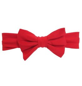 Baby Wisp Big Bow Headband in Red by Baby Wisp