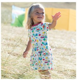 Frugi Baby Body Suit Organic Cotton Dress by Frugi