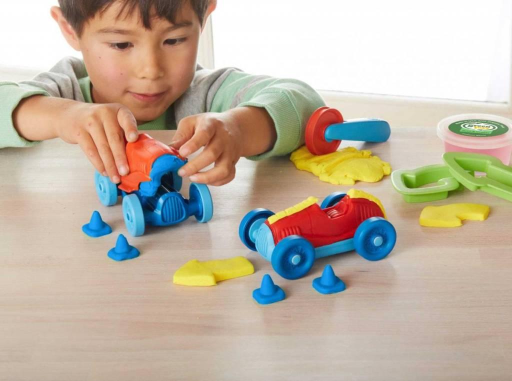 Green Toys Race Car Maker Dough Set by Green Toys