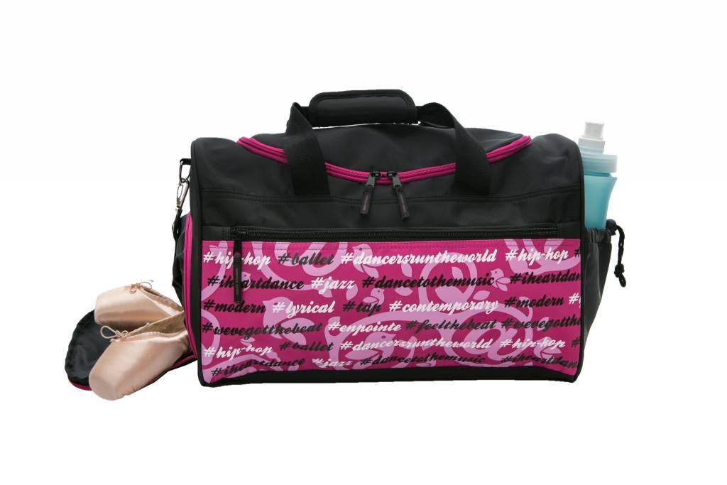 Horizon Dance Horizon Pink Hashtag Gear Duffel