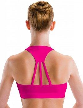Motionwear Wide Neck 3 Strap Bra by Motionwear Style 3030