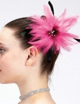 Dasha Designs Dasha Feather Hair Clip 2336