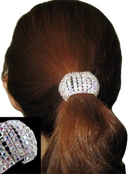 Dasha Designs Dasha Stretch Rhinestone Pony 2730