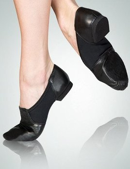 Body Wrappers Neoprene Seamless Split Sole Jazz Shoe 403A