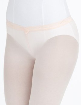Capezio Capezio Ultra Soft Hip Rider Footed Tight 1821