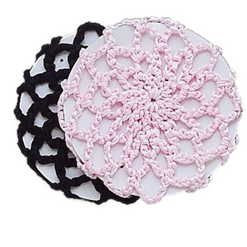 Dasha Designs Bun Cover 2119 Black And Pink Dance Supplies Tulsa