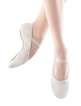 Bloch Bloch Dansoft Youth Ballet Shoe- White