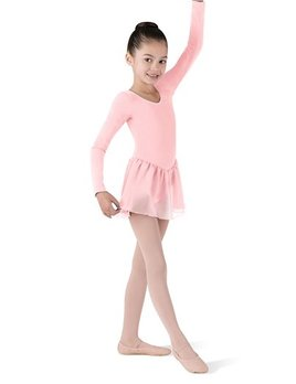 Bloch BLOCH LONG SLEEVE SKIRTED LEOTARD CL5309