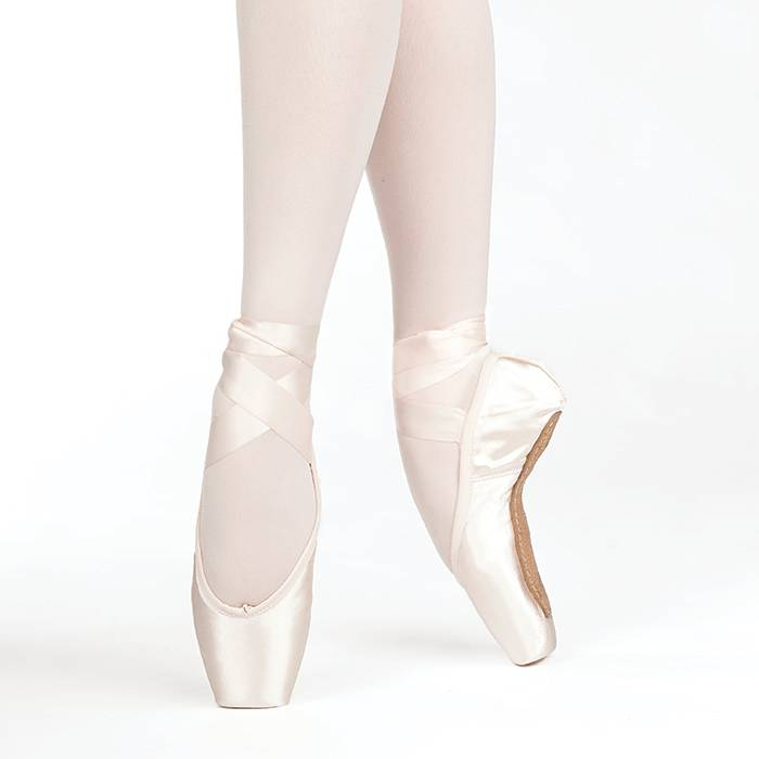 dfc6fa29d Russian Pointe Almaz Drawstring Pointe Shoe - Black and Pink Dance ...