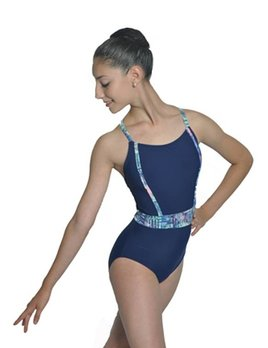BP Designs BP Designs Banded Waist Vertical Edge Leotard 73118