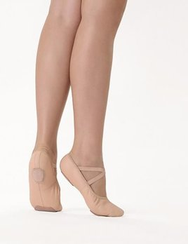 So Danca So Danca Youth Split Sole Leather Ballet Shoe