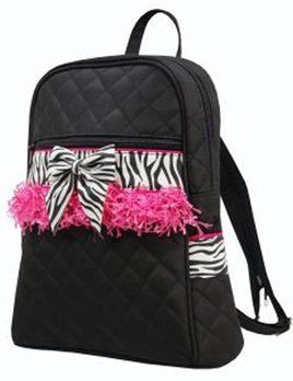 Sassi Designs Sassi Designs Zebra Backpack