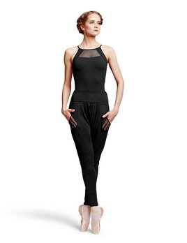 Bloch Bloch Diamond Mesh Harem Pants P9038