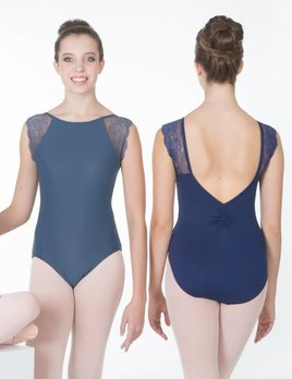 Suffolk Pointe SUFFOLK LACE SLEEVE LEOTARD ADULT 2082A