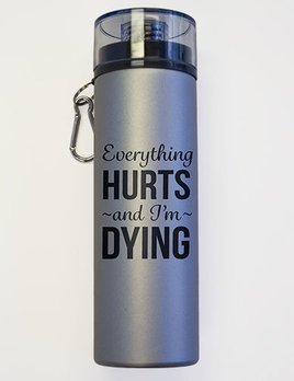 Suffolk Pointe Suffolk Everything Hurts Water Bottle 1546