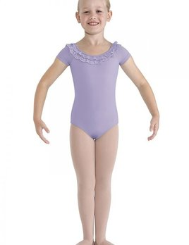 Bloch BLOCH FRILL LACE CAP SLEEVE LEOTARD