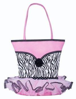 Sassi Designs Sassi Designs Zebra Tutu Tote NOR-03
