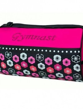 Sassi Designs Sassi Designs Flower Power Gym Duffel FLP-02GYM
