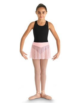Bloch Bloch Heart Mesh Skirt CR9351