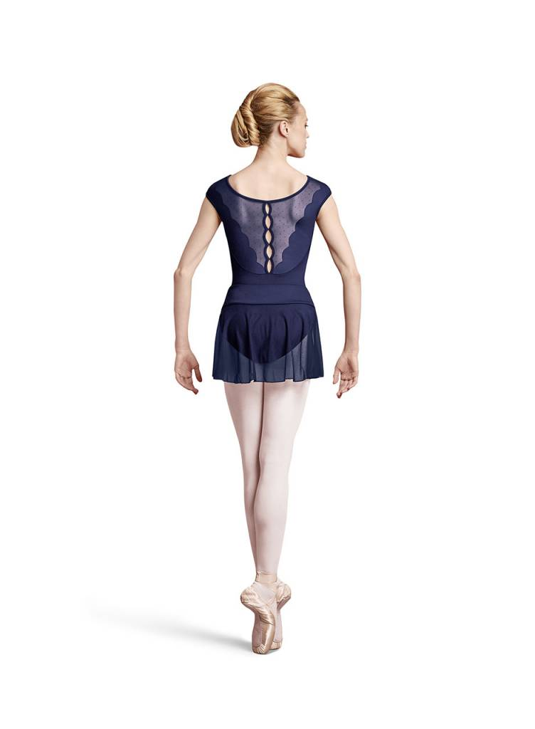 Bloch Bloch Button Back Cap Sleeve Leotard L8872